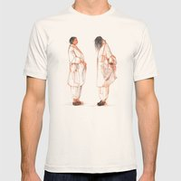 SAIC 14 Mens Fitted Tee Natural SMALL