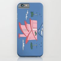 Pink Panther's Modern House iPhone 6 Slim Case