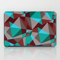 Triangle cubes iPad Case
