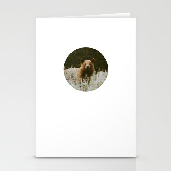 Bush Bear Stationery Card