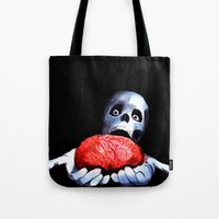 Brains! Live Brains! Tote Bag
