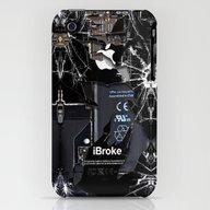 Broken, Rupture, Damaged… iPhone (3g, 3gs) Slim Case