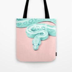 Snake Green Tote Bag