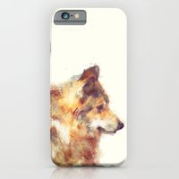 wolf iPhone & iPod Cases featuring Wolf // True by Amy Hamilton
