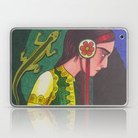 The Mistress of the Copper Mountain Laptop & iPad Skin