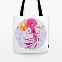 Miss Ocptopus Tote Bag
