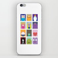 Minimalist Adventure Tim… iPhone & iPod Skin