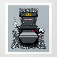 Throne Of Games Art Print