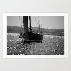 Sailing Majestically Art Print