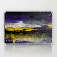 Purple Abstract Landscape Laptop & iPad Skin