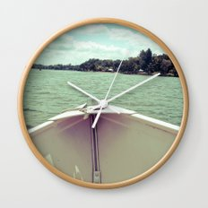 Sometime This Life, I'm Going to Sail Away Wall Clock
