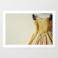 Doll Closet Series - Mus… Art Print