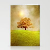 Stationery Cards featuring Energy & Love  by Viviana Gonzalez