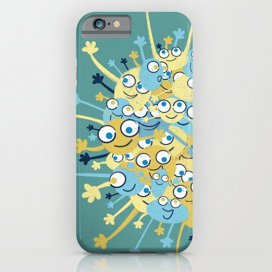 Bubbly Creatures Print iPhone & iPod Case