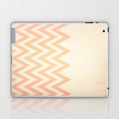 Orange Textured Chevron Laptop & iPad Skin