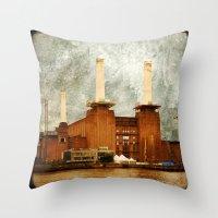 Battersea Power Station … Throw Pillow