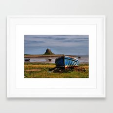 Lindisfarne Castle Framed Art Print