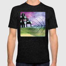 UNDER CONSTRUCTION I-B Mens Fitted Tee Tri-Black SMALL