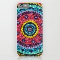 Rainbow Mandala iPhone 6 Slim Case