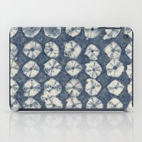 Indigo Spiderweb Shibori iPad Case