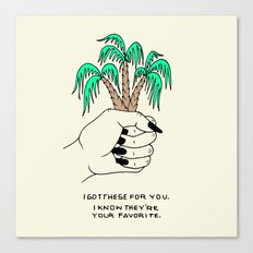 I GOT THESE FOR YOU Canvas Print