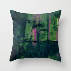 Por Debajo del Puente Throw Pillow