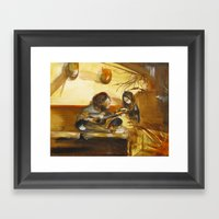 The Guitarists Framed Art Print