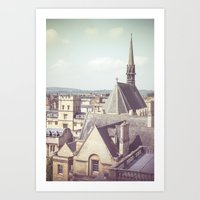 Oxford Roofs Art Print