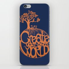 Create Your Own World iPhone & iPod Skin