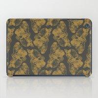 Ginkgo Fossils - Dark iPad Case