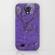 Purple Galaxy S4 Slim Case