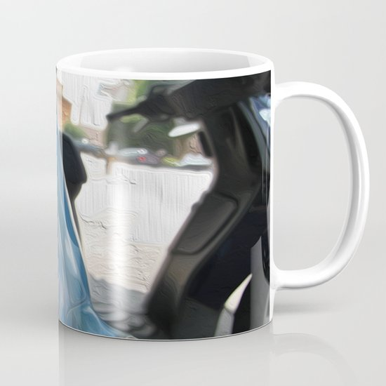 Vespa dreaming Mug