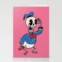 Donald Death Stationery Cards