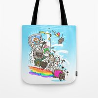 Release The Cats Tote Bag
