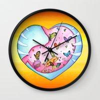 All a Flutter Wall Clock