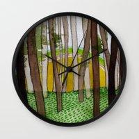 Landscapes / Nr. 5 Wall Clock