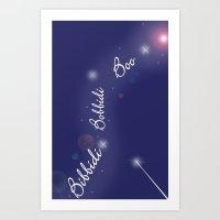 Bibbidi Bobbidi Boo Art Print