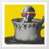 Fancy A Cup Of Genius? Art Print