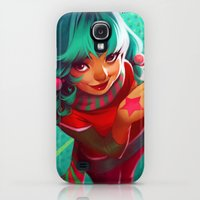 Galaxy S4 Cases featuring Bubblegum by loish