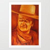 The Duke Art Print