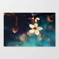 Spring Wishes Canvas Print