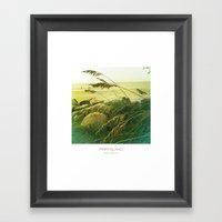 Beach Grass - Fripp Isla… Framed Art Print