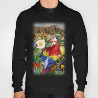 Red Parrot Hoody