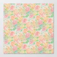 Forever Bouquet Canvas Print