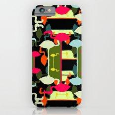 Flamingos abstract Slim Case iPhone 6s