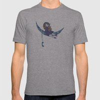 Ambrosia Mens Fitted Tee Athletic Grey SMALL