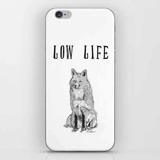 """""""Low Life"""" part 2 iPhone & iPod Skin"""