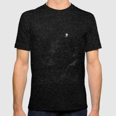 Gravity Mens Fitted Tee Tri-Black MEDIUM
