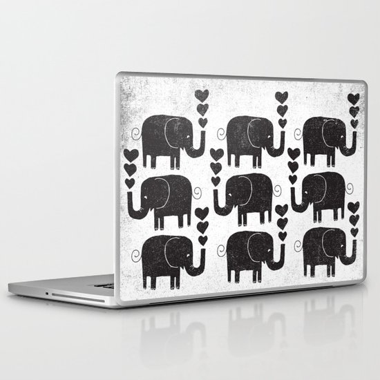 ELEPHANTS Laptop & iPad Skin