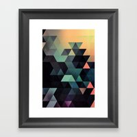 Ynclyssy Framed Art Print